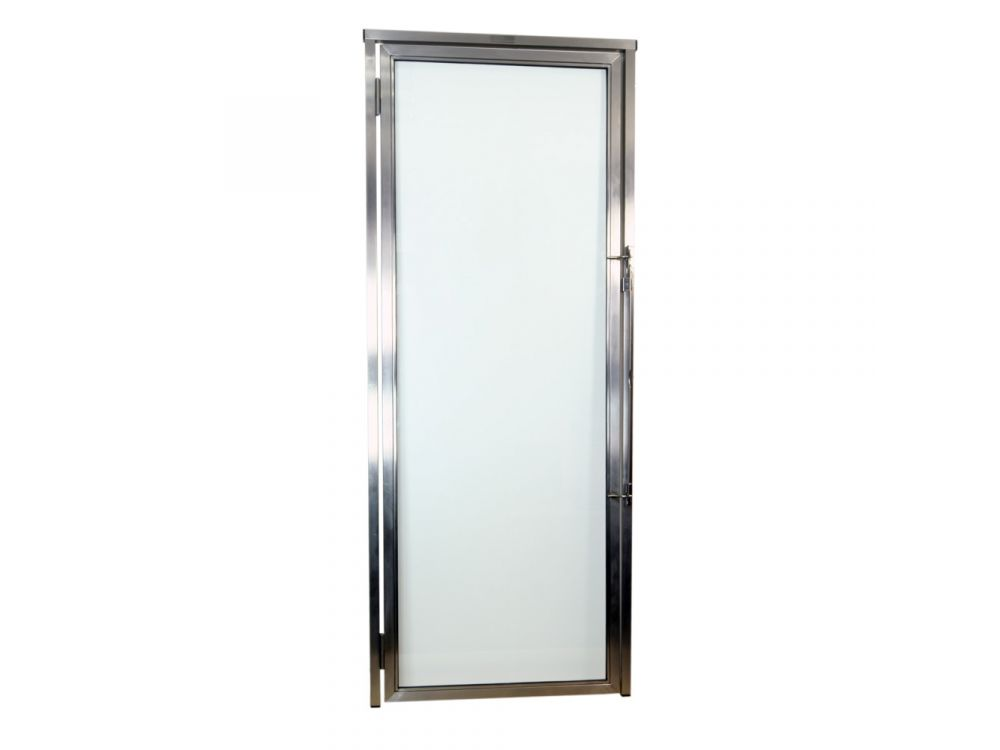 101.8cm W x 196cm H Glass Kennel Door - Clearance